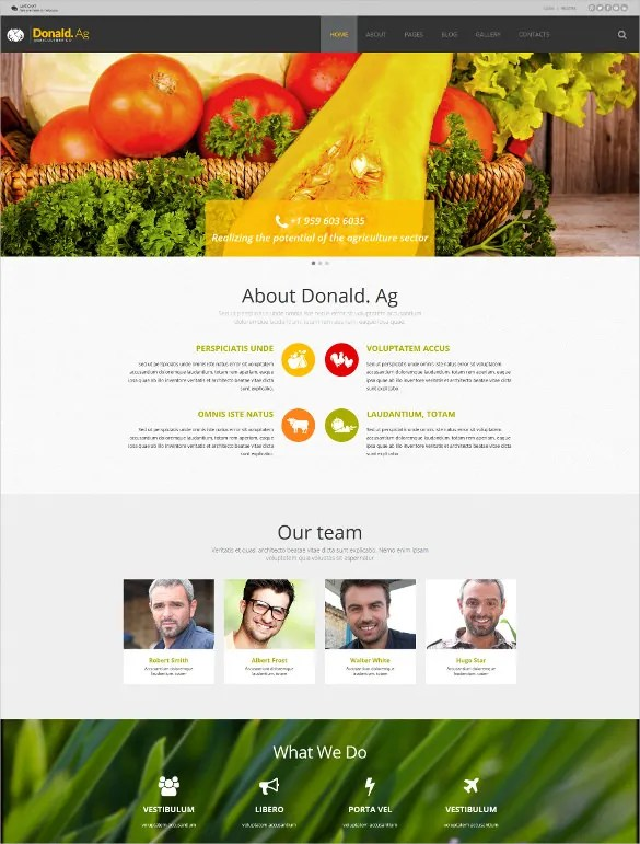 Free Agriculture Website Templates Amp Themes Free Amp Premium Free Amp Premium Templates