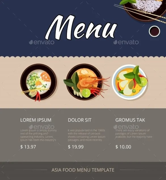 21 Price Menu Template Ai Docs Psd Pages Free