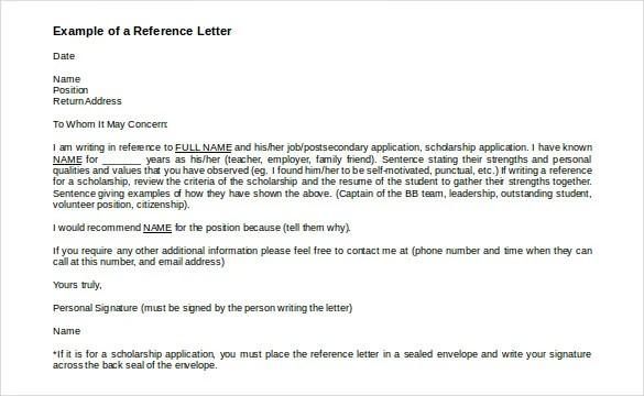 recommendation letter template sample for student samplebusinessresume