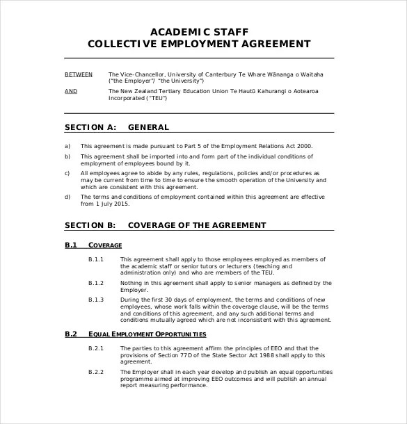 32 Employment Agreement Templates Free Word Pdf Format
