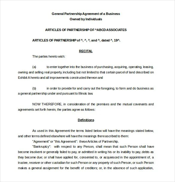 Business Partner Contract Template referral partnership agreement – Business Partner Contract