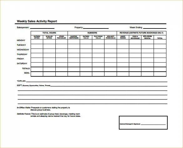 Sales Call Report Sample How To Write A Business Report Sales