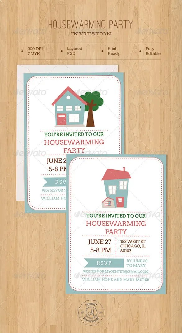 Free Housewarming Invitation Template Click On The Printable