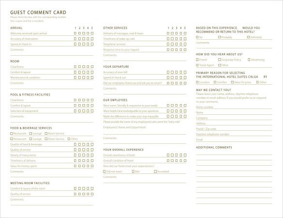 guest register template restaurant guest check blank receipts – Guest Check Template