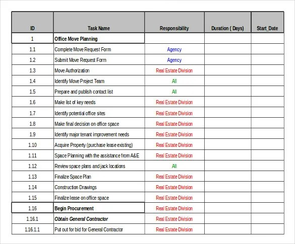 Moving Templates house checklist excel house checklist moving – Company Inventory Template