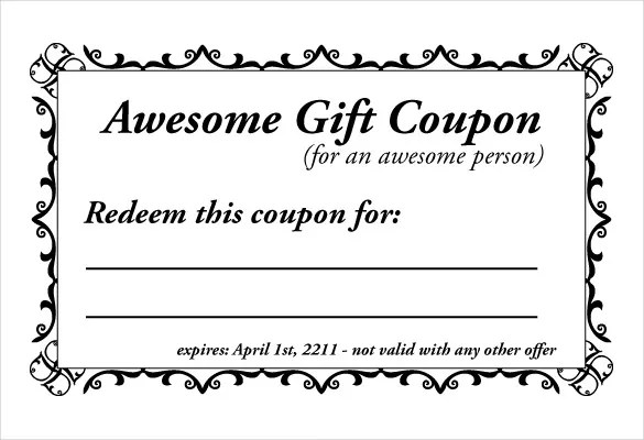 Coupons Templates. 1000 images about make your own coupons on ...