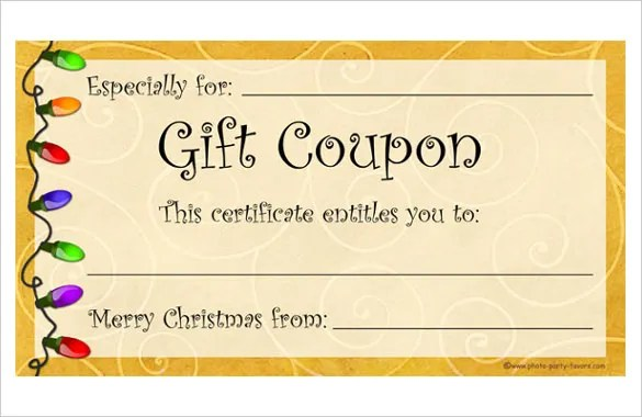 coupon template free download
