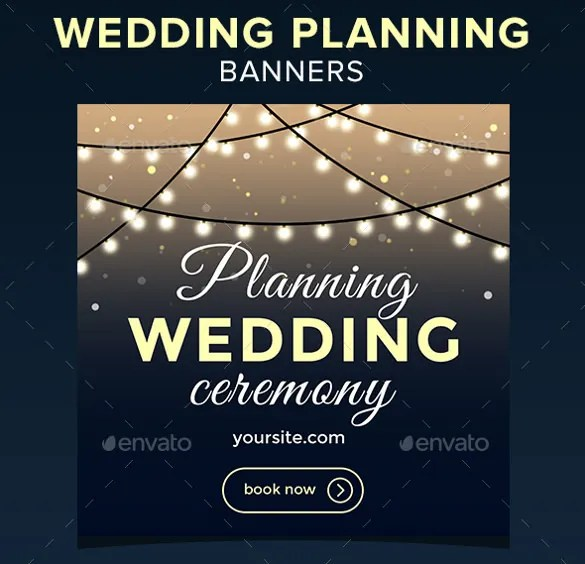 Wedding Banner Template 25 Free PSD AI Vector EPS