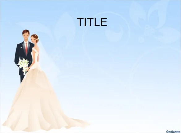 Easy To Use Wedding Powerpoint Template Free