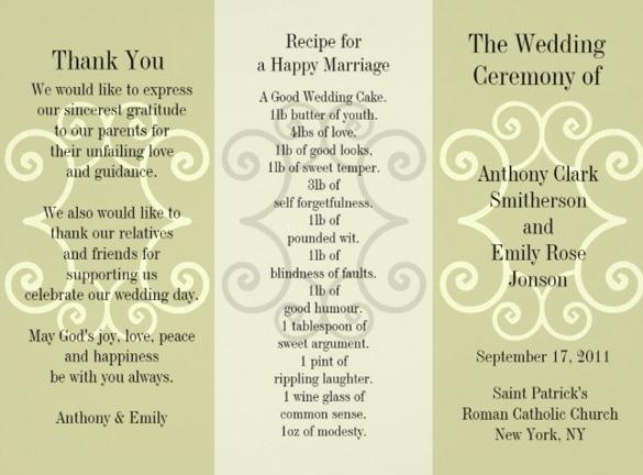 30 Wedding Brochure Templates Ai Psd Docs Pages Free Amp Premium Templates