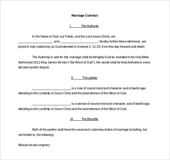 Legal Contract Templates 16 wedding contract templates free – Legal Contracts Templates Free