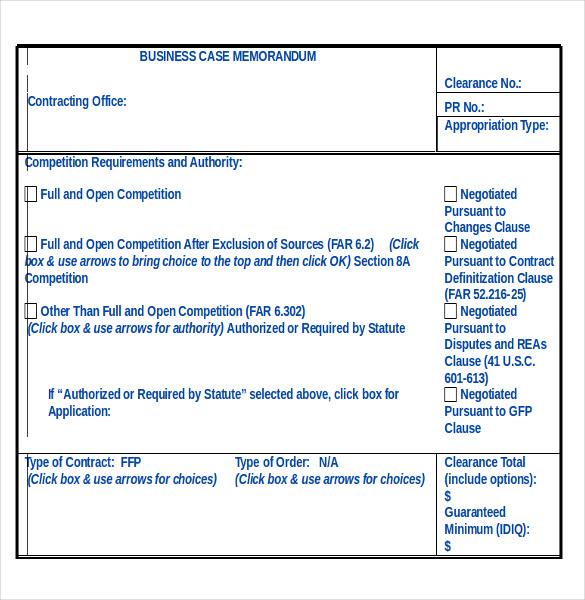 Sample Business Case Template 5 Comprehensive Strategic Business – Business Case Templates Free