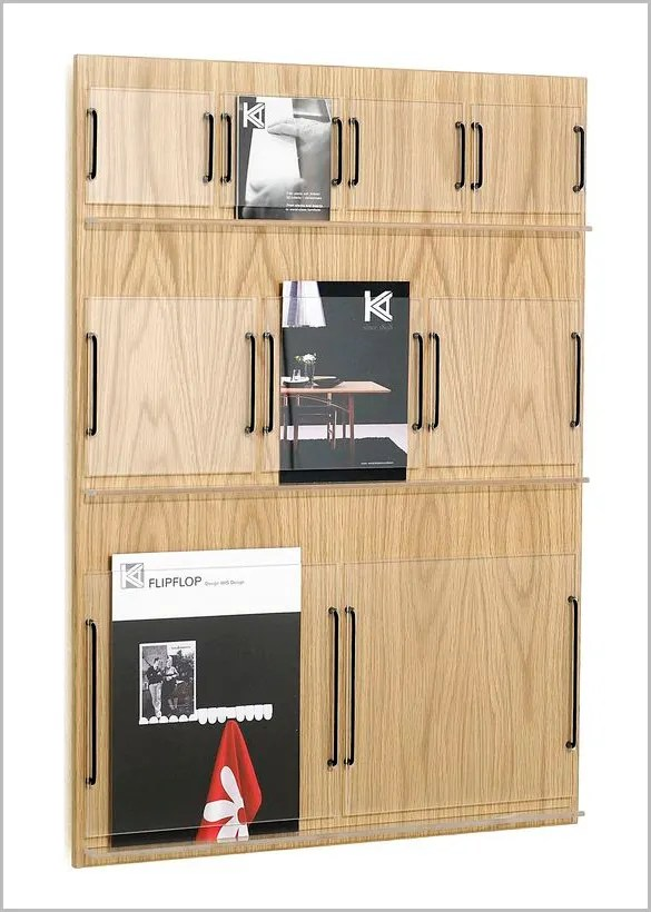 Pamphlet Holder Wall Mounted