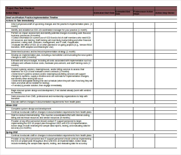 microsoft word templates project task assignment template 1000 – Task Action Plan Template