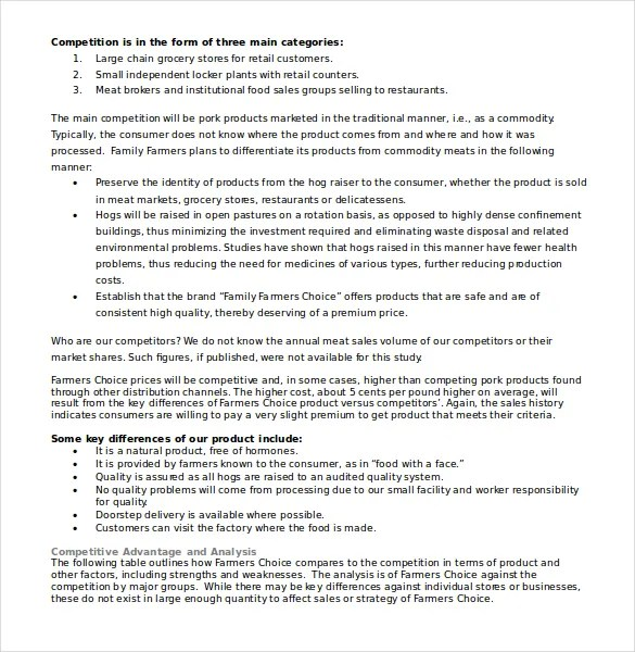 Swot Template Doc. swot analysis template 47 free word excel pdf ...