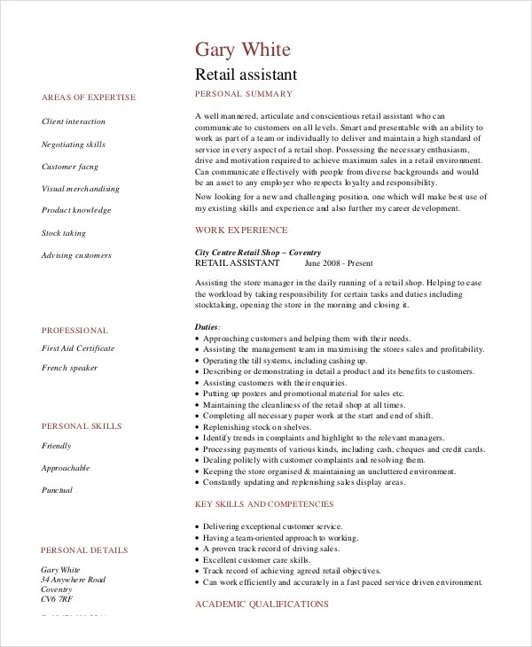 Stocker Resume Template 5 Free Word Pdf Doents  Stocker Resume