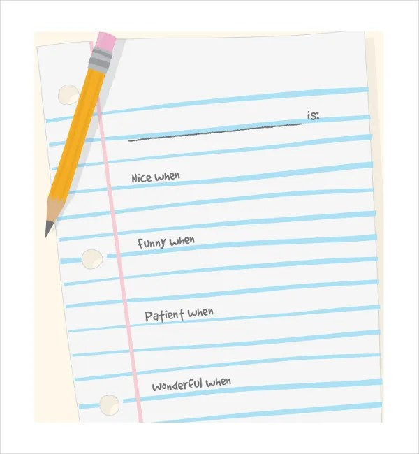 Line Paper Template white paper template free printable word – Free Lined Paper to Print