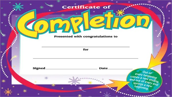 Kids Certificate Template 13 Pdf Psd Vector Format