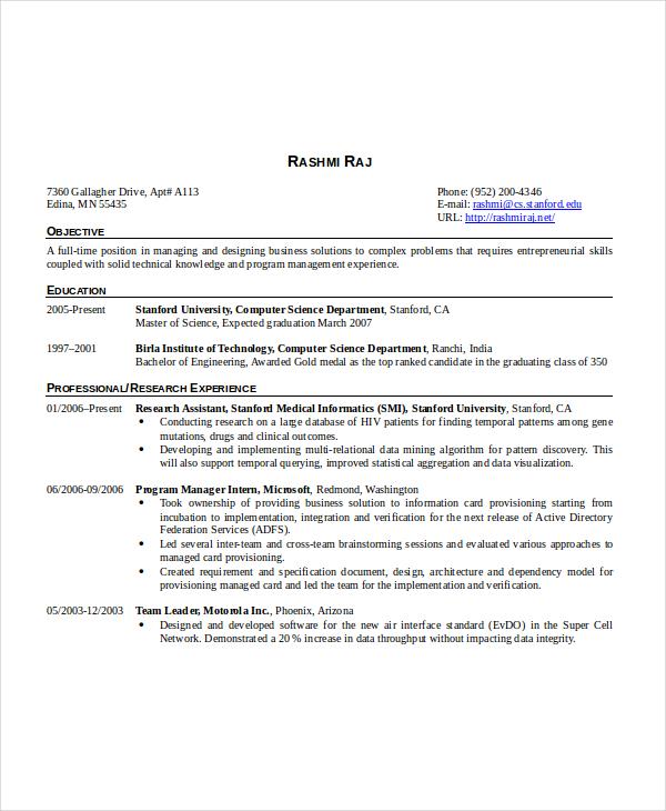 software developer system engineer resume sample