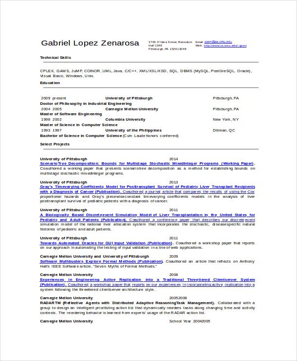 software trainer resume software engineer resume page 2 senior