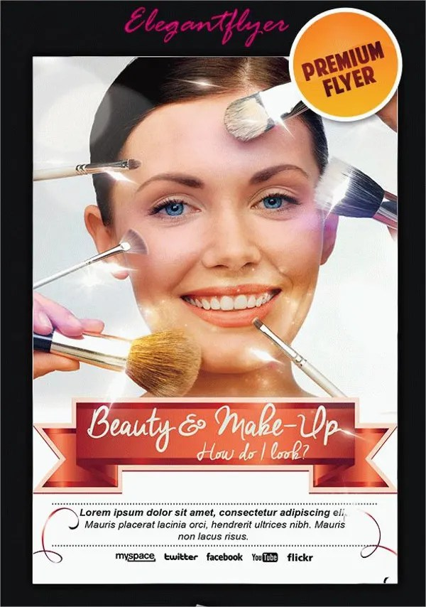 23 Cosmetic Flyers PSD AI EPS Vector Word Free Amp Premium Templates