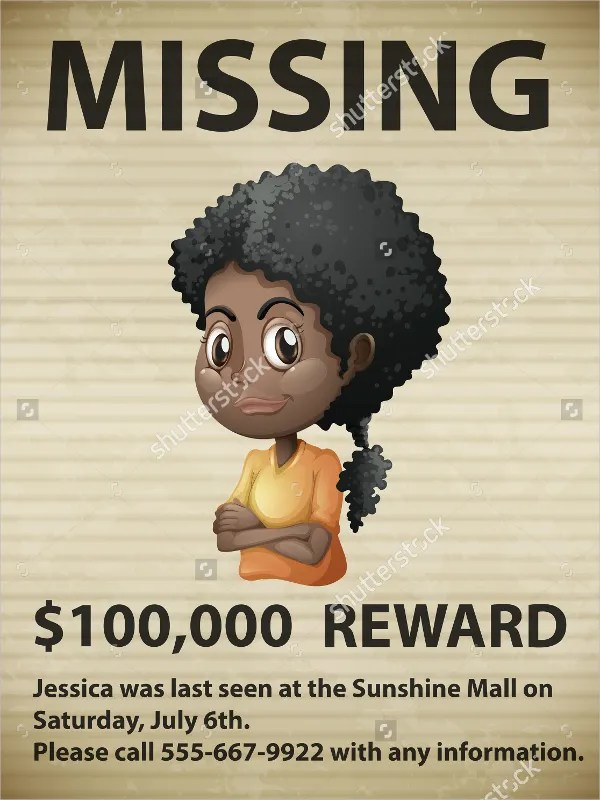 best photos of missing wanted poster template most wanted poster – Funny Missing Person Poster