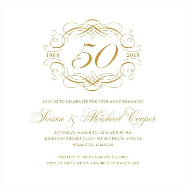 23 wedding anniversary invitation card