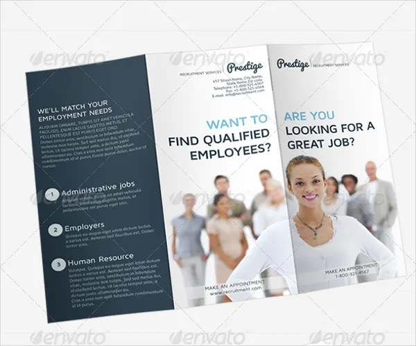 images for recruiting brochure template