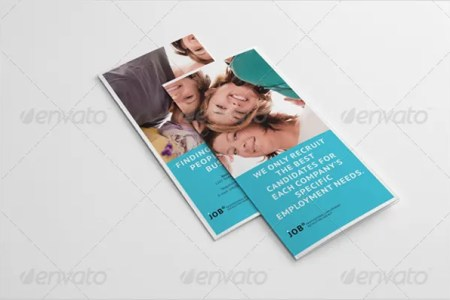 18  Recruitment Brochures   Free PSD  AI  EPS Format Download   Free     Recruiting Agency Trifold Brochure