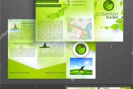17  Yoga Brochures   PSD  AI  EPS   Free   Premium Templates Ecology Yoga Brochure Template