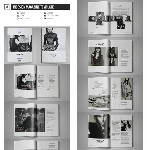 30 Creative Magazine Print Layout Templates For Free Free Amp Premium Templates