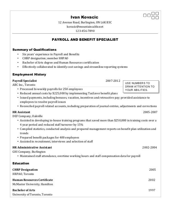 Sample warehouse resume forklift
