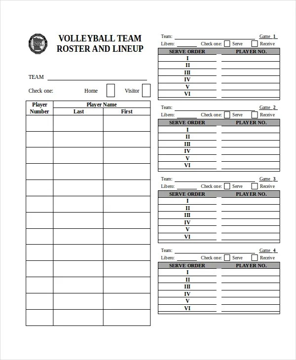 Baseball Roster Template youth manager and spiders elite youth – Sample Baseball Roster Template
