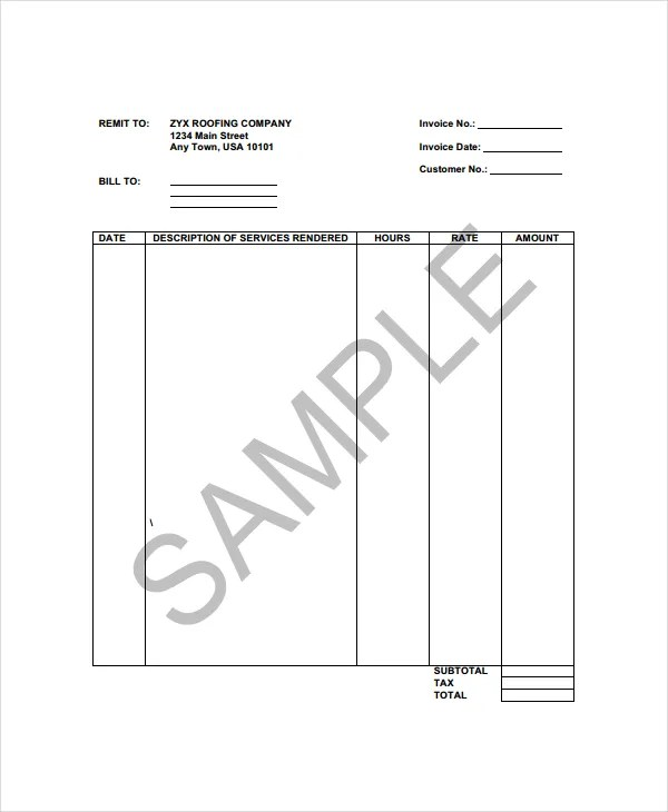 invoice template docx. free report cover templates for microsoft, Invoice templates