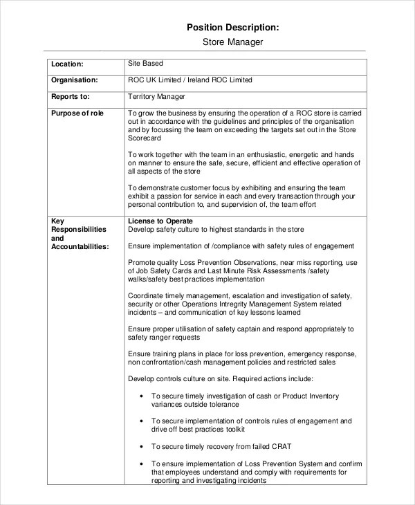 Church Job Templates Description