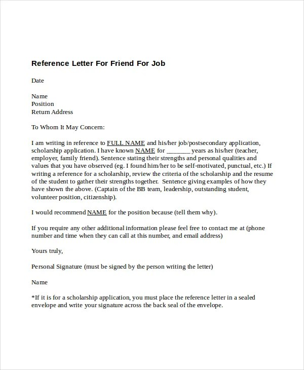 Letter Of Recommendation For A Job Position from i2.wp.com