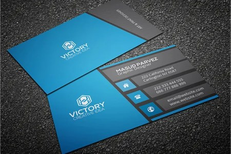 31  Modern Business Card Templates   Free EPS  AI  PSD format     Modern Design Business Card Template