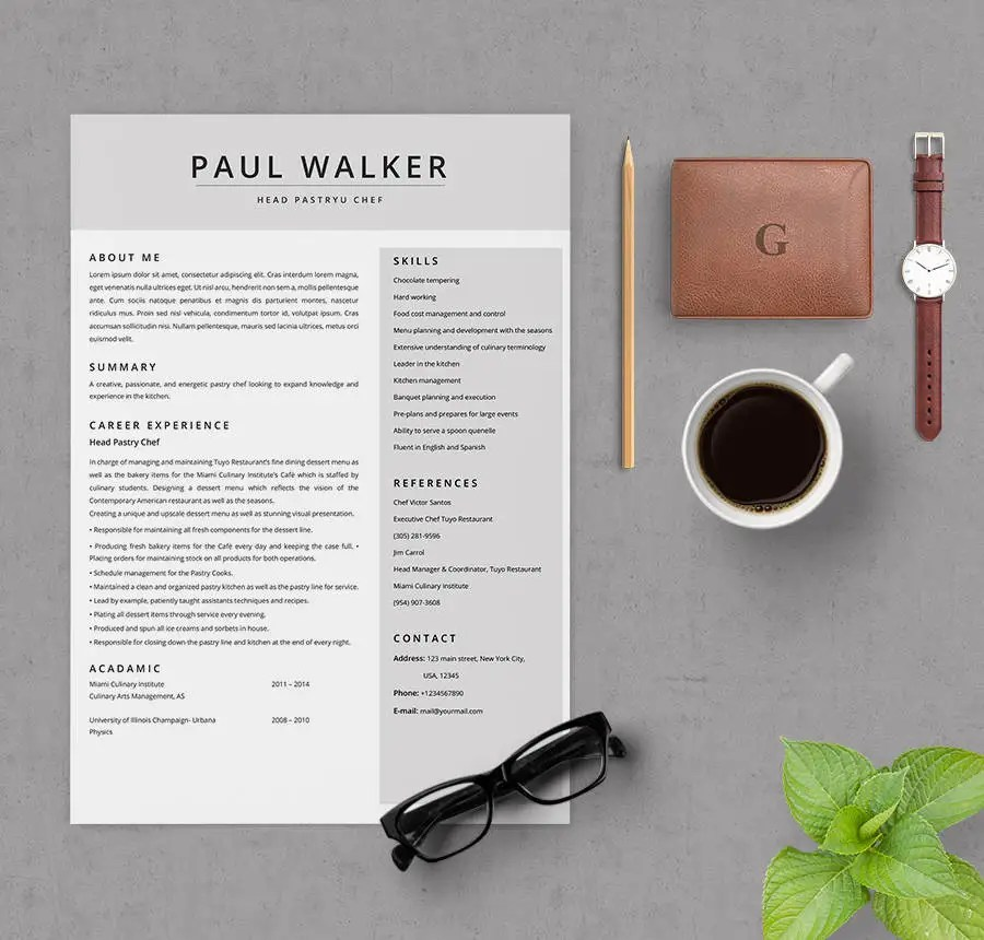 Chef Resume sample, examples, sous, Chef Jobs, free.