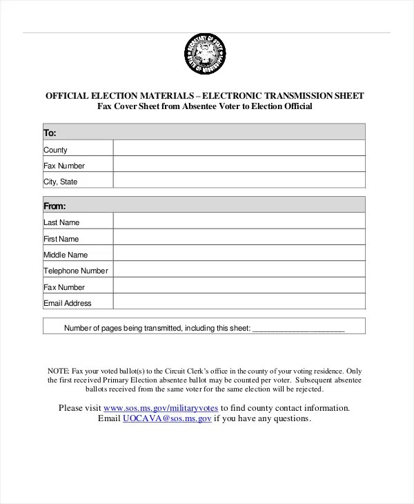 Fax Cover Sheet Template 15 Free Word PDF Documents Download Free Amp Premium Templates