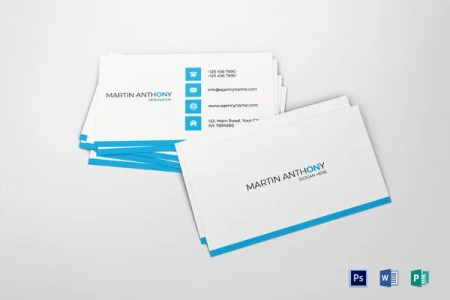 25  Free Business Cards   PSD  Vector EPS  PNG Format Download     Simple Business Card Word Template