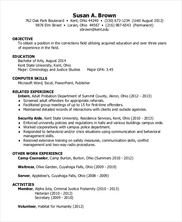Resume Cover Letter 23 Free Word PDF Documents Download Free Amp Premium Templates