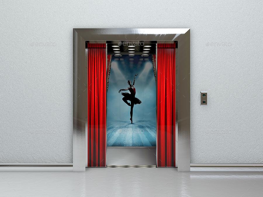 20 Indoor Advertising Mockups Free Amp Premium Templates