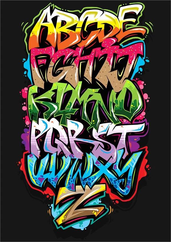 10 Graffiti Letters Free Premium