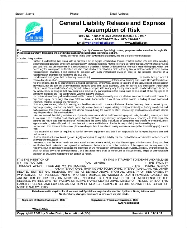 General Liability Waiver Template hands of compassion mission – General Liability Waiver
