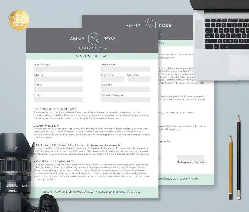 13 Contract Form Templates Free Amp Premium Templates