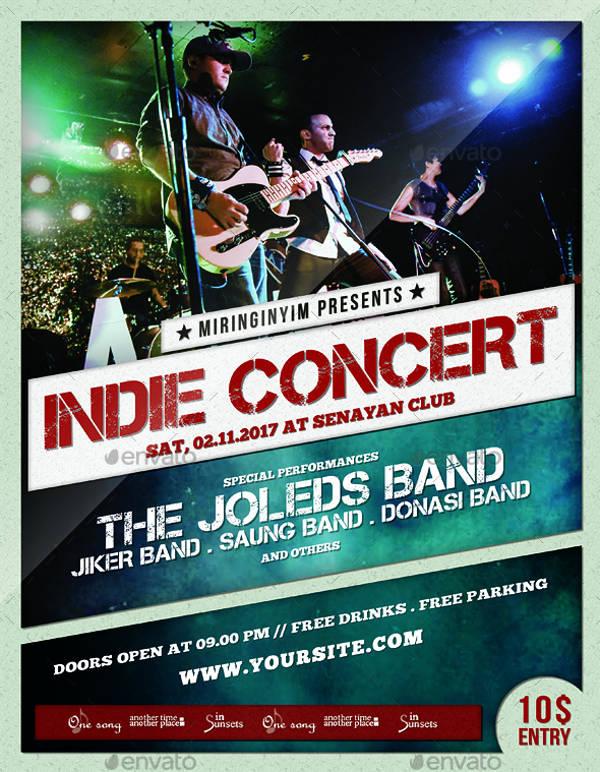 21 Concert Poster Designs Free Amp Premium Templates