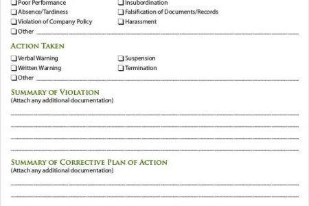 Best Free Fillable Forms » employee discipline form doc | Free ...