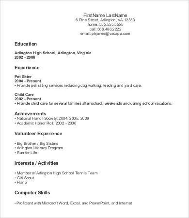 free entry level resume templates resume sample