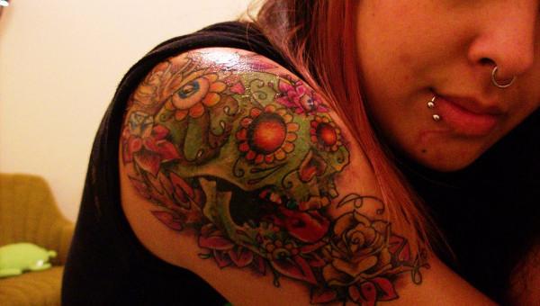 9 Sugar Skull Tattoo Designs Free Sample Example Format Download Free Premium Templates