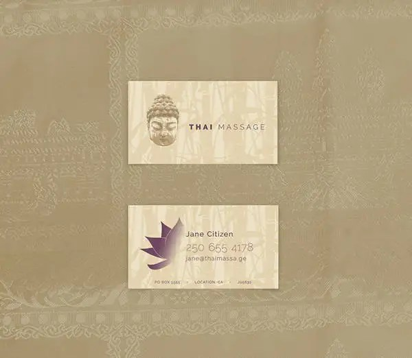 10 Massage Business Card Templates In Word Pages PSD Free Amp Premium Templates